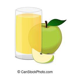 apple juice stock illustrations 11 521 apple juice clip art images rh canstockphoto com Fruit Juice Clip Art apple juice clipart