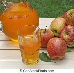 Glass of Apple Juice