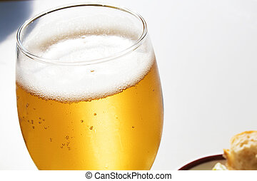 glass of beer, drinks