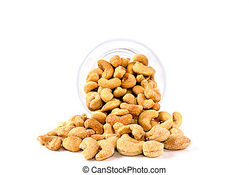Glass of cashew