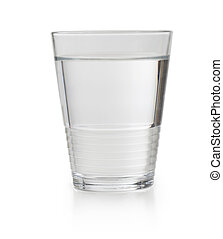 Glass of clean tap water
