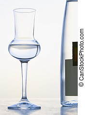 Glass of Grappa