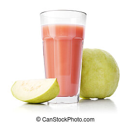 Glass of Guava Smoothie