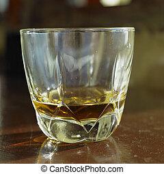 glass of Havana Club (7 years old), Havana, Cuba