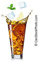 glass of ice tea