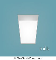 glass of milk icon