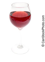 glass of red wine