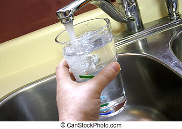 Glass of Tap Water - Glasses of Clean Fresh Ontario Tap...