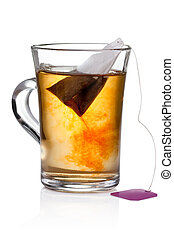 Glass of Tea with Bag End