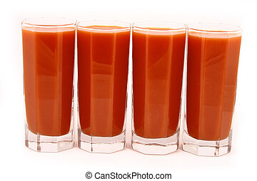 tomato juice - Glass of tomato juice-dietary feed and drink ...