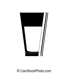 Glass of water icon vector illustration graphic design