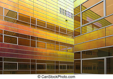 Glass office building 3