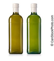 glass oil olive bottle
