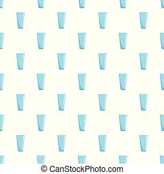Glass pattern seamless vector