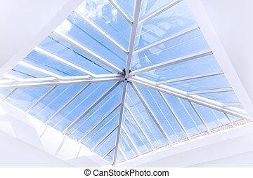 Glass roof design
