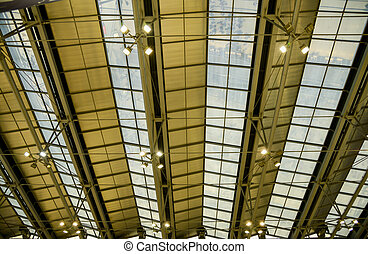 Glass roof pattern