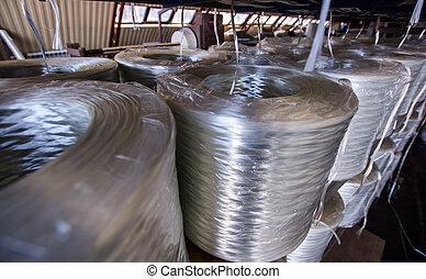 Glass roving fibre for pultrision process. Window fiberglass...