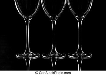 bocal - glass series: three trotters of wine bocal