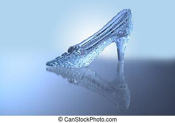 Glass slipper - Nice glass slipper with reverberation ...