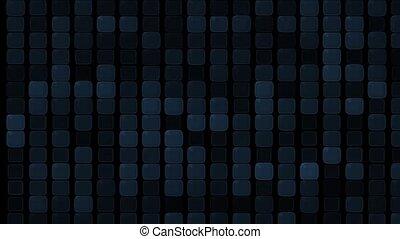 glass square and block Brick matrix