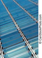 Glass sunshades