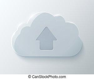 Glass Upload Cloud