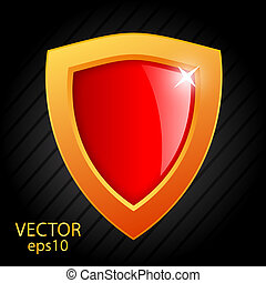 Glass vector shield