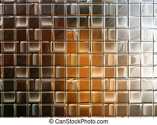 Abstract image resembling a glass wall for backgrounds or wallpaper.