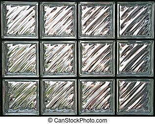 glass wall - Pattern of Glass Block Wall
