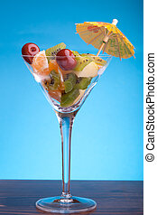 Glass With Fruit Salad