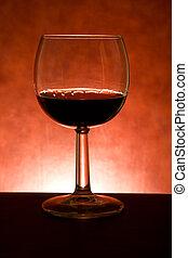 Glass With Myrtle Liqueur
