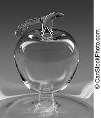 glassblowed apple