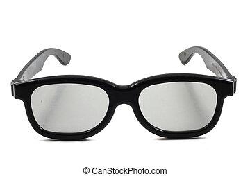 glasses., 3d, cine