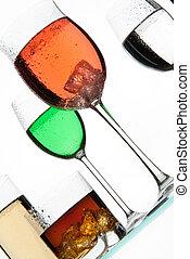 Glasses And Liquids