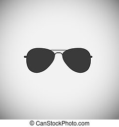 Glasses application icons vector illustration