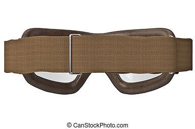 Glasses aviation strap, back view