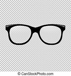 Glasses In Transparent Background