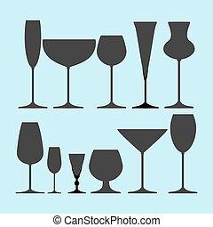 Glasses Set icon