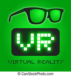 Glasses vr - Creative design of glasses vr