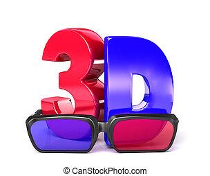 glasses&3d, 3d