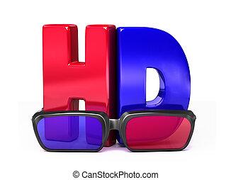 glasses&hd, 3d