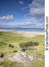 Glassillaun Beach, Killary Fjord, Connemara National Park
