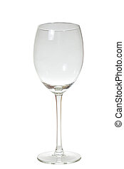 glassware isolated