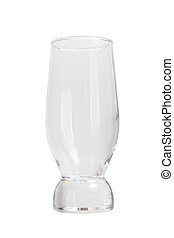 glassware isolated
