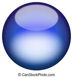 A 3d sphere isolated over white for buttons or icons - look for more colors in my portfolio.