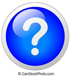 Question Mark Icon Button