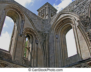 Glastonbury Abbey - The Abbey is set in 36 acres of...