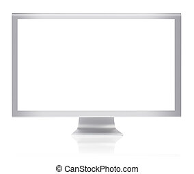 glatt, monitor, pc computer
