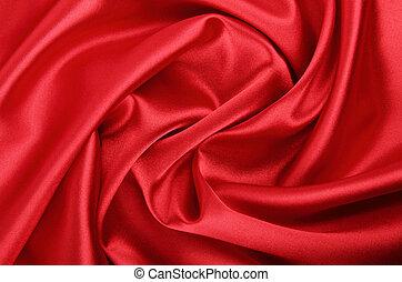 glatt, rød, tekstilet, baggrund