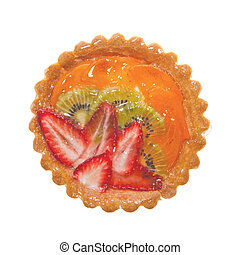 Tartlet - Glazed Tartlet with Strawberry Apricot and Kiwi ...